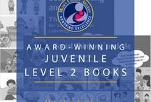 Award-Winning Juvenile Level 2 Books / These award-winning books are for audiences ages 9 to 12. Books in this category are read by the target audience (vs. being read by a parent), and cover all genres and subject areas.