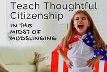 Teach Citizenship / Discover simple projects that teach active citizenship, empower kids to advocate for issues they care about, and read about citizenship.
