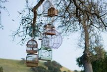 Wedding ideas / Ideas for our September wedding... so many beautiful concepts..birds / butterflies / umbrellas / birdcages....