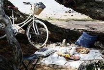 Picnics / on adore pique-niquer! plage, parc, jardin...