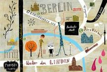 Vacaciones, escapaditas... Maps / On adore voyager!!!
