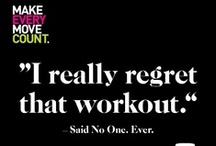 I'll be up in the gym...just working on my fitness...