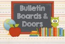 Bulletin Boards/Doors / Bulletin board and door decorating ideas.