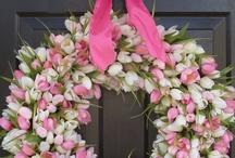 Spring - Mother's Day - Easter / Decoration ideas for Spring, St. Patrick's Day, Easter, Mother's Day
