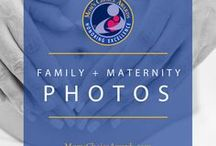 Family + Maternity Photos / Ideas for your next family photo session, or ideas for snappable moments in your everyday life.