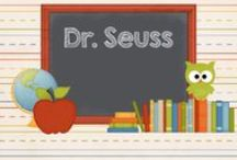 Dr. Seuss / Activities, resources, crafts and freebies to go along with Dr. Seuss books.