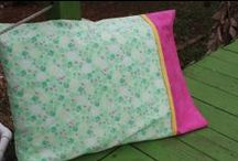 pillows / All kinds of pillows and pillow covers to make / by Beverly Goodrich