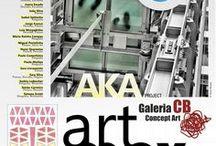 Aka Art - collective initiative / Um lugar, um ponto de encontro, uma oportunidade. A ideia surgiu sob o mote da Arte como espaço vivo e simbólico que é também um lugar para se viver, biologicamente claro está. Sentíamos, alguns, a carência desta dimensão mais completa, desta pequena grande parte da nossa Humanidade, e o apelo pela qualidade da experiência artística... To see more, visit: http://akaarte.wix.com/online#