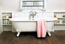 Bathroom. / Suds.