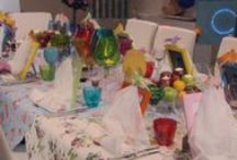 My Kitchen Rules - Decorations / Decorations from the My Kitchen Rules instant restaurant round.