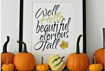 Everything Fall! / Thanksgiving Homeschool Ideas, Fall Crafts, Thanksgiving Recipes, and Fall Home Decor!
