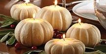 Happy Fall Y'all! / Pumpkins, Apples, Simmering Soups and Stews, Pies and Turkeys....the season of food!