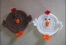 De todo Crochet / De todo de crochet.... / by Angela Maria Montero Oliva