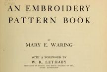 Embrodery pattern book