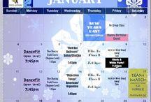 Calendars & Events / Fun Events