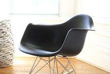 Charles and Ray Eames / Ce couple designer, architecte et cinéaste est considéré comme un des piliers du design du XXè siècle. Ils ont notamment contribué a faire évoluer le design vers la production de masse.  Un grand nombre de leurs créations sont devenues des pièces iconiques comme la lounge chair.
