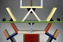 Ettore Sottsass / Designer italien ,diplômé de l'École polytechnique de Turin en 1939, il est considéré comme un designer majeur du XXème siècle. Dès 1957, Ettore Sottsass expérimente une conception de meuble relié à l'architecture radicale, mais aussi fait des recherches sur la céramique, ainsi que sur la couleur et sur les matériaux. Lauréat de nombreux prix, présent dans les collections des plus grands musées, Sottsass ne cessa de développer une pratique au croisement de l'art, de l'architecture et du design.