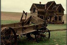 Abandonados / Edificios, casas, objetos en abandono....