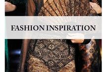 Fashion inspiration / From street style to runway, this is what inspires me. Fashion is an expression of who I am.