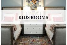 Kids rooms / Bedroom design ideas for boys and girls.