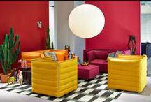 Vitra / Vitra est un fabricant suisse de mobilier design qui produit les réalisations de designers pour le bureau, les lieux publics et l'habitat. L'entreprise produit des meubles de designers du XXe siècle, comme Charles Eames et Ray Eames, Jean Prouvé ou Verner Panton et promeut également une vision actuelle du design en éditant les réalisations de designers tels que Philippe Starck, Jasper Morrison, Ronan & Erwan Bouroullec, Hella Jongerius ou Arik Levy.