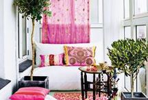 colorful home / Colors for the home