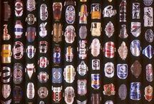 """Bicycle Head Badges--""""Ride On!!"""" / Bicycle Head Badges from Today and Yesterday / by TRAIL CRUZER"""