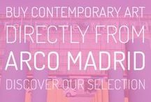 ARCOmadrid: special selection / Don't miss the chance to discover and purchase artworks from ARCOmadrid 2014, hand-picked by our art advisors.