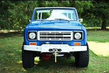 """""""Ride 'em Scout!!"""" / The Iconic International Scout / by TRAIL CRUZER"""