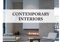 Contemporary interiors / From open plan to bathrooms and kitchens, this is a collection of everything contemporary in interiors.