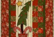 vánoční quilty