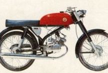 Cafe racer and moped