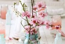 Blumen / flowers, blumen, deko, wohnzimmer, interior, living room, Natur, flower, roses, rose, pastels, spring, summer, pretty, beautiful,