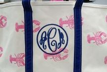Monograms / Yes, we can monogram your personal goods too.