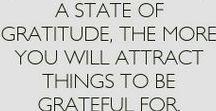 Gracefully Grateful... / Gratitude reminders