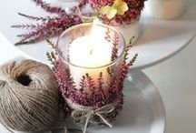 DIY Herbst / DIY, flower, deko, Wohnzimmer, living room, selbermachen, do it yourself