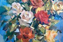 Flowers by Nikolay Malafeev