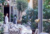 Courtyard dreaming
