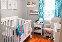 Nursery Inspiration (Boy) / Inspiration for designing a nursery for a baby boy!
