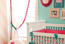 Nursery Inspiration (Girl) / Inspiration for designing a nursery for a baby girl!
