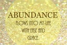 Abundance...