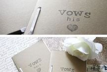 Vow Inspiration / Tips and templates for writing vows because honestly, it is really hard to get started.
