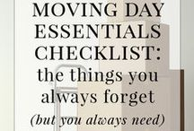 Packing and Moving Tips / Tips and tricks for packing and moving to make that stressful time just a little easier.