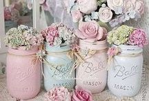 Shabby Chic / Stop and smell the Roses.