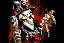Wicked Skulls / Wicked Skulls by Spano - Evil Skull Art Work Wicked Skull Paintings, Demonic Skull Drawings and Tattoo Flash