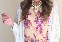 Springy Style / Inspiration for girly outfits perfect for springtime / by Nicole Mueting