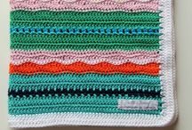 Crochet: blankets / Edgings and different stitches