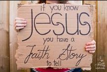 Faith Stories / We cannot keep from speaking all that we have seen and heard! (Acts 4:20)