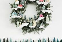 Snow is falling.. / Christmas and Festive inspiration
