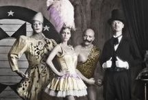 Cirque de l'amour / Vintage and modern circus and fairground photographs and illustrations.
